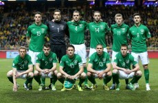 Here's how the Ireland players rated against Sweden tonight