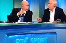 VIDEO: Eamon Dunphy has already accused Liam Brady of being 'Trapattoni's PR man'