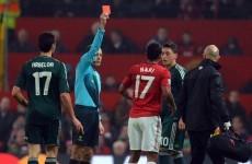 UEFA ban Nani, fine Ferguson