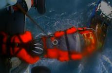 VIDEO: Irish fisherman saved from waters off Alaska