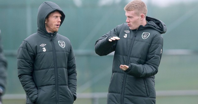 Caption Time: McClean gives Green the long and short of it