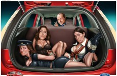 Ford India apologises for ad image of women gagged in car
