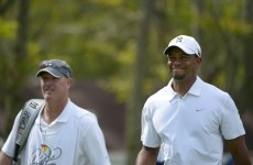 Meet the caddie who gambled on Tiger Woods at his lowest point