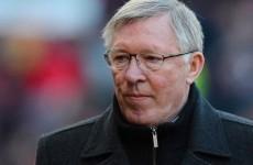 Fergie surprised by United's Premier League lead