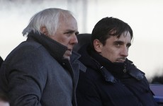 Gary and Phil's dad Neville Neville arrested over alleged indecent assault