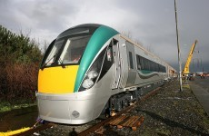 Lucky couple escape unharmed after train hits car at Galway level crossing