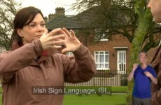 Irish sign language website for parents launched