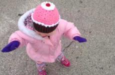 Evil genius toddler sabotages walking the dog