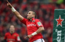 'Hopefully I'll be able to drive on' - Zebo desperate to make Heineken Cup deadline