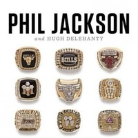 The cover of Phil Jackson's book wants to remind you just how successful he has been