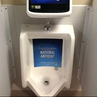 Stadium installs toilet computer game... controlled by your wee