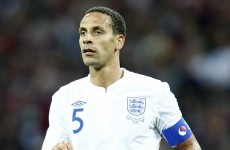 England fans reported over 'racist' Ferdinand chants