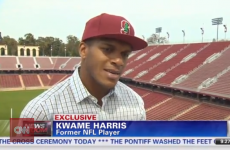 WATCH: Gay ex-49ers player discusses being closeted in the NFL