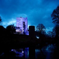Blarney Castle goes blue for World Autism Day