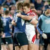 Snapshot: Paddy Jackson and Ian Madigan embrace as Ulster rattle Leinster