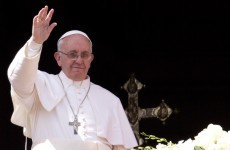 Pope prays for peace in Syria, Korea on first Easter
