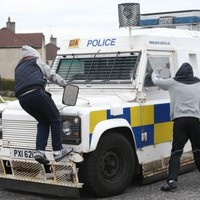 PICTURES: Police to probe 'illegal parade' and stone-throwing incidents