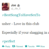 The best songs to have sex to (according to Twitter)