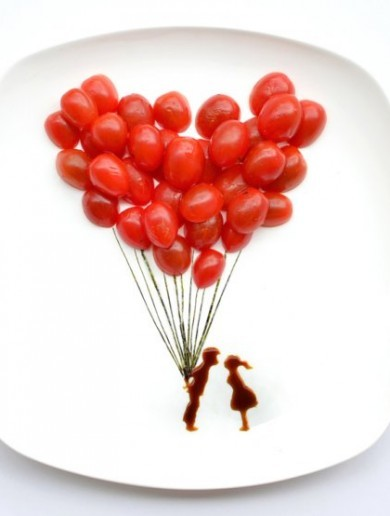 16 tasty works of art made with food