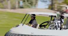 WATCH: Bubba Watson has an ingenious idea - golf hover carts
