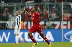 WATCH: Alaba and Muller on target as Bayern overcome Juve