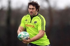 Tony Buckley signs for Sale Sharks