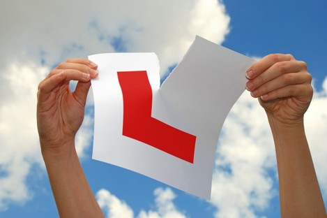 You're more likely to do this after a driving test in Ennis than anywhere else in Ireland.