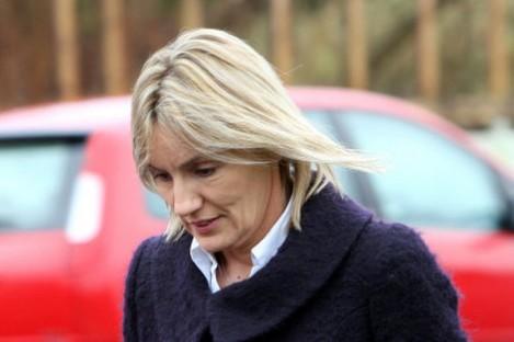 Hazel Stewart at Coleraine Court yesterday