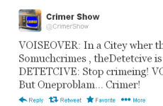 So what is @CrimerShow all about?
