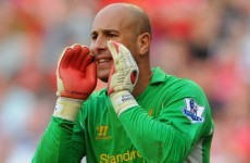 Pepe Reina staying in Liverpool's plans, insists Brendan Rodgers