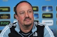 Rafa Benitez open to offers in England