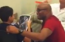 VIDEO: Anderson Silva breaks our hearts with this emotional hospital visit