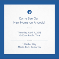 Facebook to unveil new 'home' on Android screens