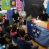 """Cracker of a buuurd"": Schoolchildren teach visitors some Dublinese"