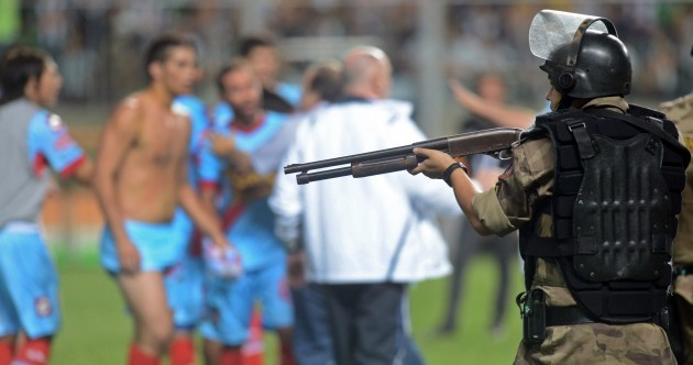 Hold your fire! 10 of our favourite pics from the sporting week