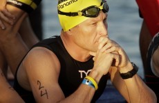 Lance Armstrong forced to pull out of swimming return