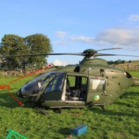 'Substantial damage' to air ambulance during rescue operation