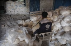 UN suspends food distribution to 25,000 Palestinian refugees
