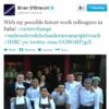 Tweet Sweeper:  Brian O'Driscoll's surprising career change
