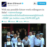 Tweet Sweeper:  Brian O'Driscoll's surprising career change
