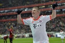 VIDEO: Bastian Schweinsteiger just scored a cheeky backheel vs Frankfurt