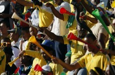 Remember vuvuzelas? This South African fan used his to attack the ref
