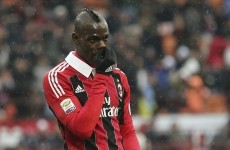 Balotelli in trouble again after nipping into train toilets for quick smoke - reports
