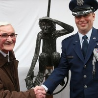 US Army's Tojo the Monkey gets his own statue in Cork