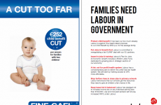 Labour attacks FG in child benefit newspaper ads