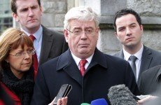 Gilmore: Water charges will not be introduced next January