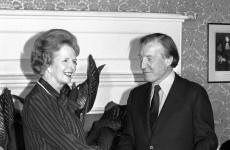 In pics: Margaret Thatcher and Ireland