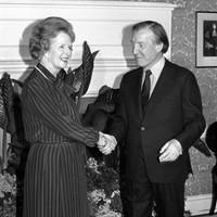 In pics: Margaret Thatcher and Ireland