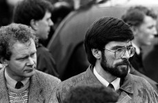Gerry Adams has harsh words for Margaret Thatcher