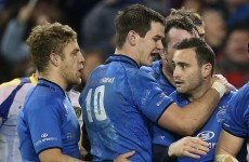 Sexton set for Leinster return but Madigan may start against Munster